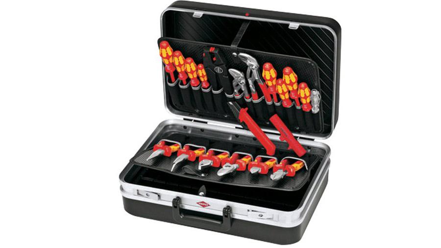 test et avis cKNIPEX 00 21 20 Mallette à outils Électricien 20 outils prix pas cher