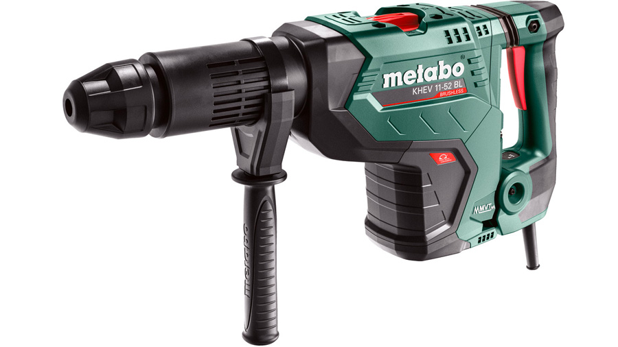 Test complet : Perforateur-burineur SDS-Max Metabo KHEV 11-52 BL 600767500