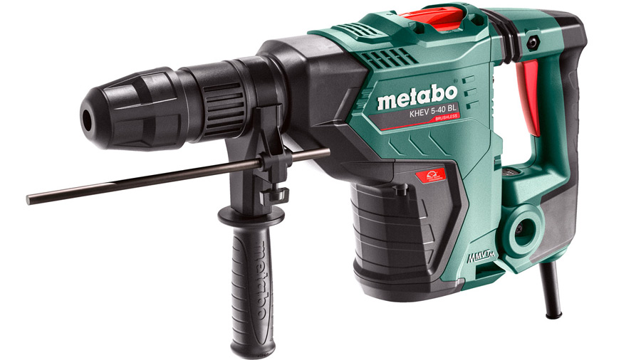 Test complet : Perforateur-burineur SDS-Max Metabo KHEV 5-40 BL 600765500