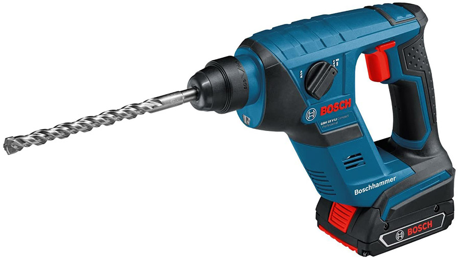 Perforateur sans fil SDS-Plus 18 V Bosch Professional GBH 18V-LI Compact 611905308