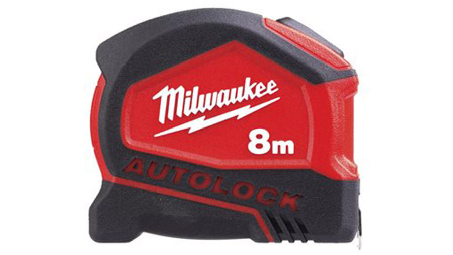 Mètre à ruban Milwaukee 8 m x 25 mm AUTOLOCK 4932464664