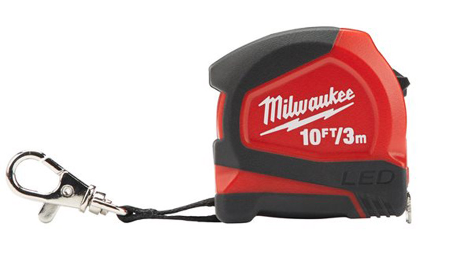 Mètre à ruban Milwaukee 3 m x 12 mm LED 48226602