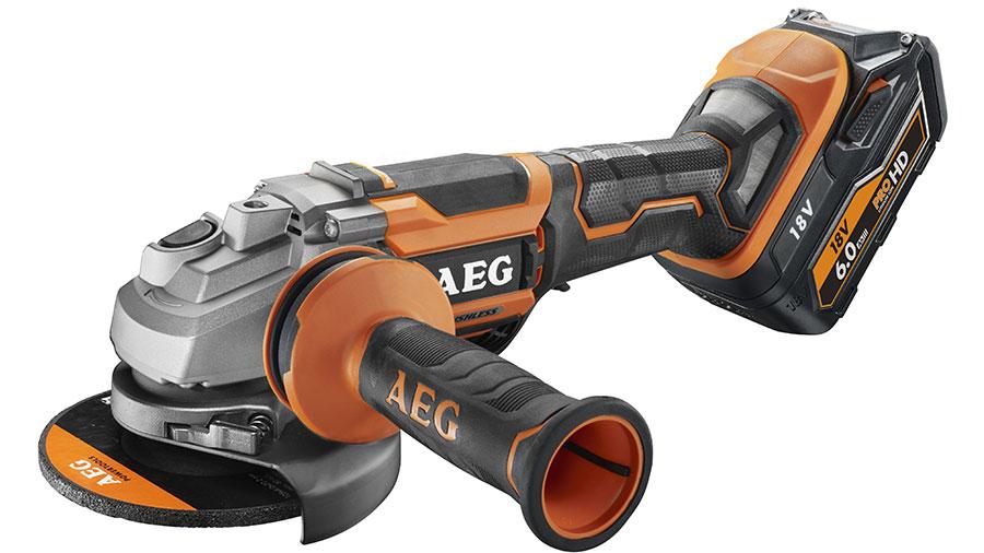 Meuleuse sans fil AEG BEWS 18-125BLPX-602C