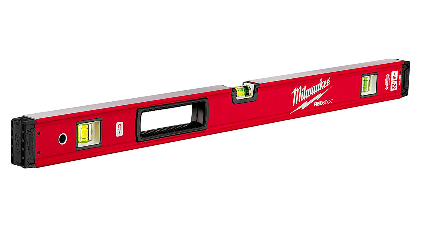 Milwaukee 4932459065 80 cm Redstick Backbone Niveau magnétique