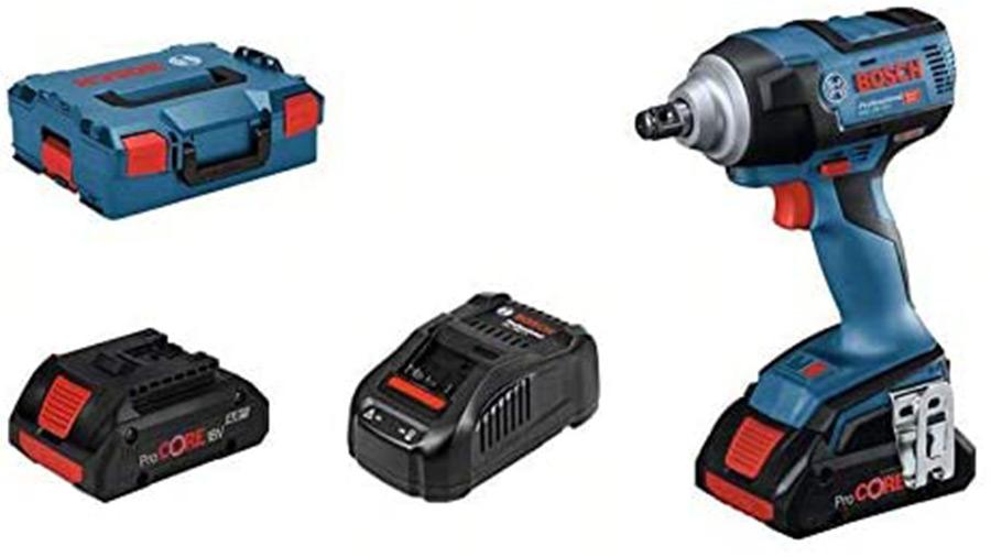 Boulonneuse à chocs 18 V sans fil Bosch Professional GDS 18V-300 06019D8202