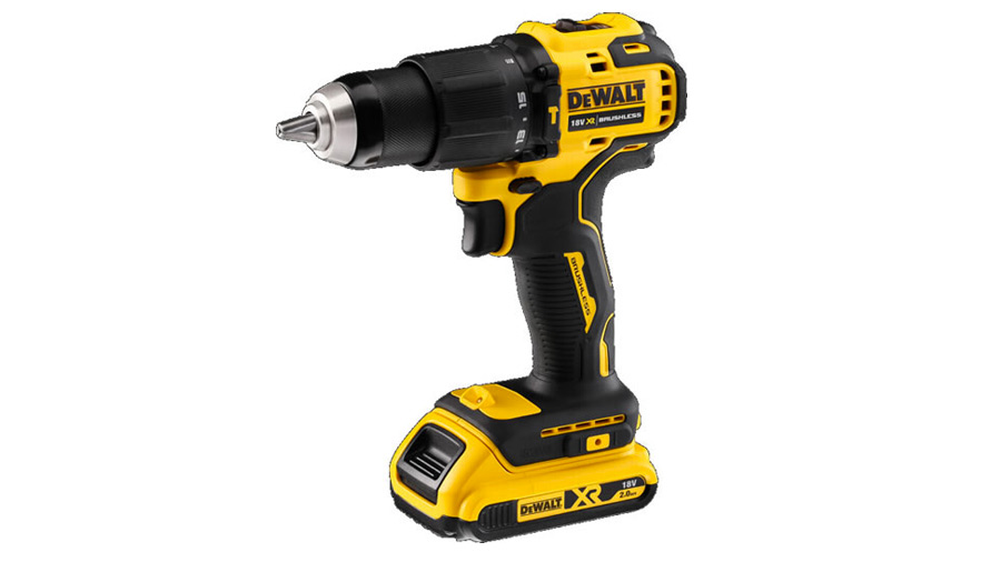 Test complet : Perceuse-visseuse à percussion sans fil DEWALT DCD709L2T-QW