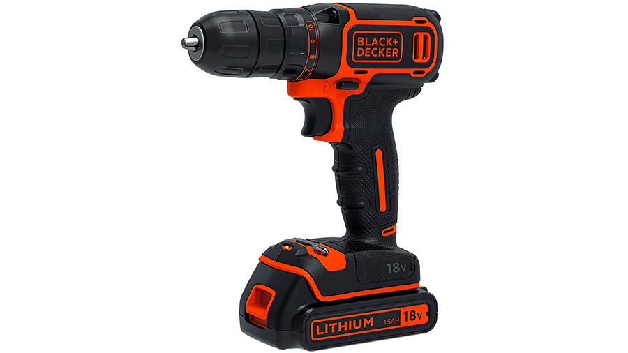Perceuse visseuse sans fil BDCDC18B-QW Black&Decker