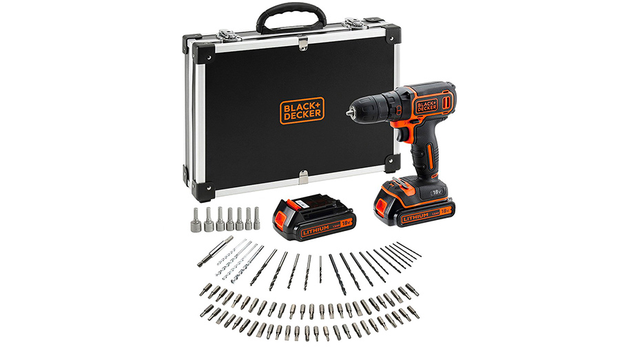 Perceuse visseuse sans fil BDCDC18BAFC-QW Black&Decker