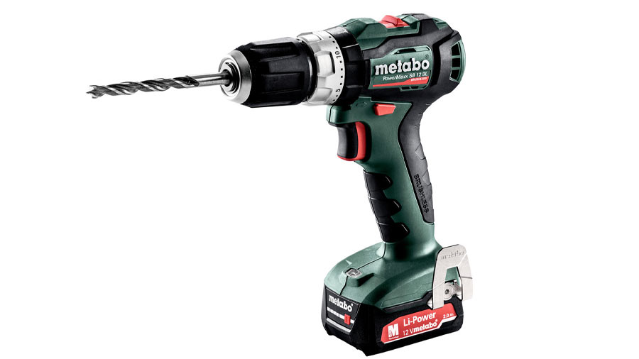 Test complet : Perceuse à percussion sans fil Metabo PowerMaxx SB 12 BL 601077500