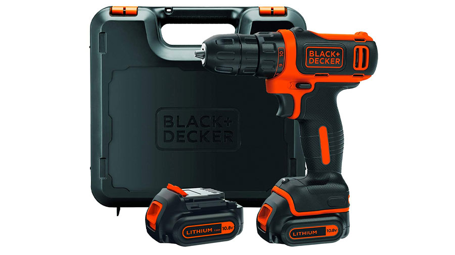 Perceuse visseuse sans fil BDCDD12KB-QW Black Decker