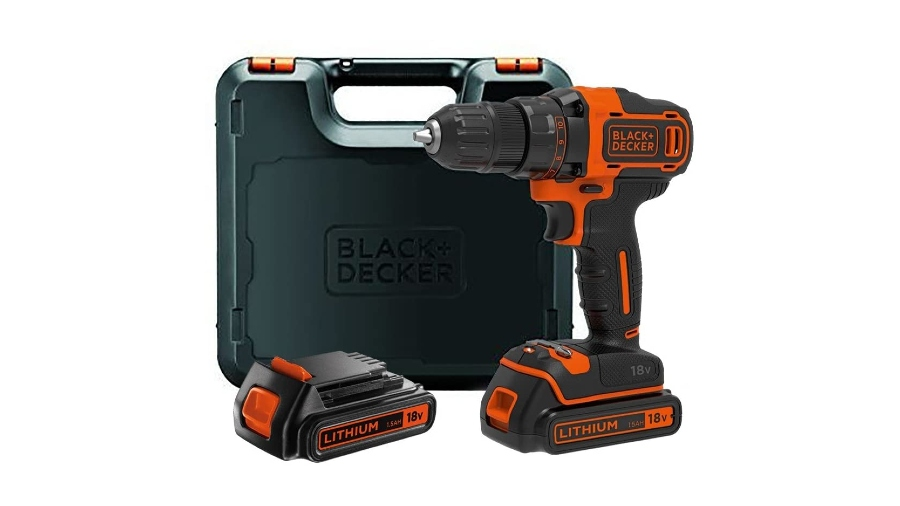 Perceuse-visseuse sans fil BLACK+DECKER BDCDD186KB-QW