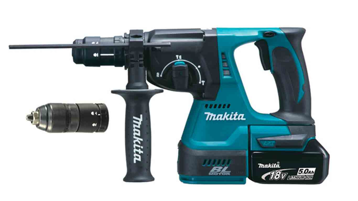 Perforateur sans fil Makita 18 V DHR243RTJ