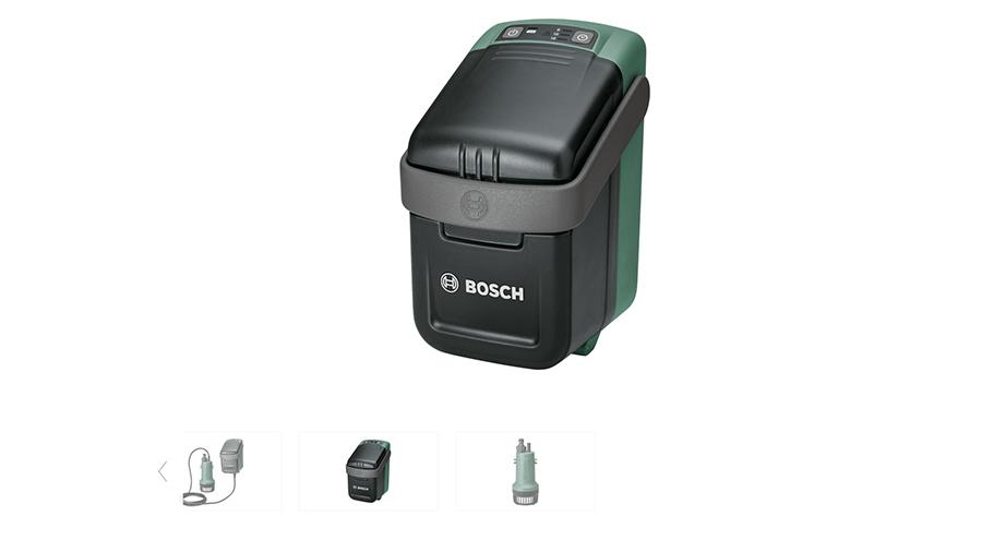 Pompe pour récupérateur d'eau Bosch GardenPump 18 solo
