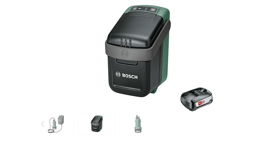Pompe pour récupérateur d'eau Bosch GardenPump 18 06008C4200