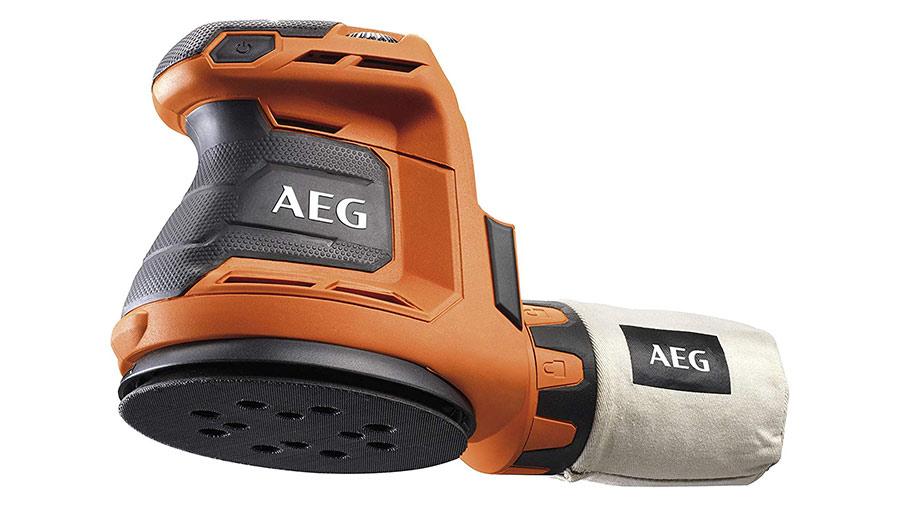 Ponceuse excentrique sans fil AEG BEX18-125-0 4935451086