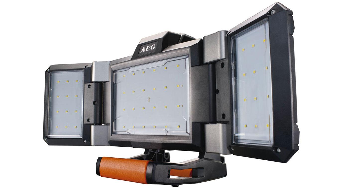 test avis et prix projecteur led sans fil aeg bpl18 0 hybride zone outillage. Black Bedroom Furniture Sets. Home Design Ideas