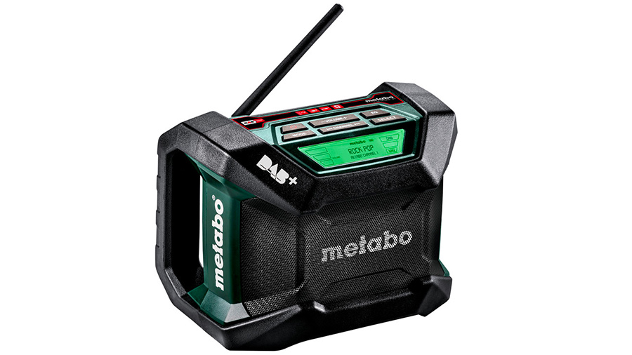 Test complet : Radio de chantier Metabo R 12-18 DAB+ BT 600778850