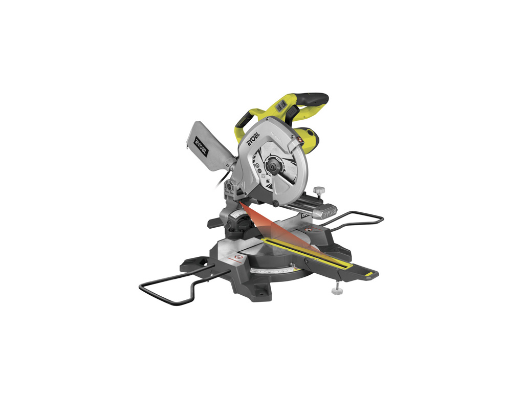 Scie à coupe d'onglet radiale RYOBI EMS254L