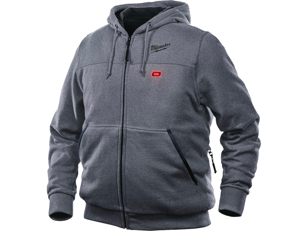 Veste chauffante Milwaukee M12 HH GREY2