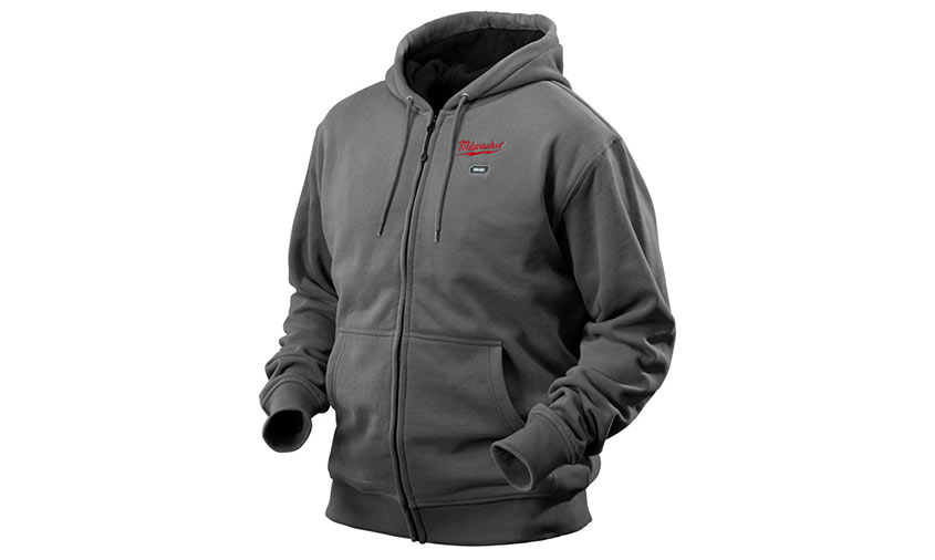 Test complet : Sweat chauffant Milwaukee M12 HH GREY3