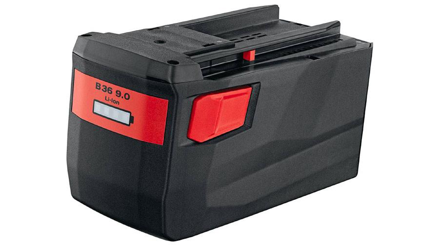 Test complet : Batterie 36 V HILTI B 36/9.0