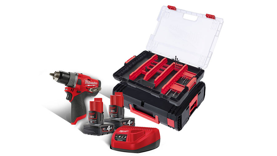 Milwaukee 4932 3524 55 Lot de 28 embouts pour visseuse