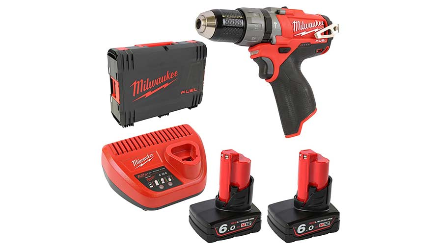 test et avis Perceuse visseuse à percussion Milwaukee M12 CPD-602X