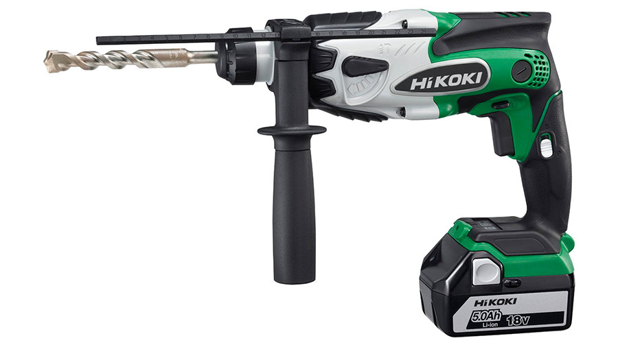 Test complet : Perforateur sans fil SDS-Plus HIKOKI DH18DSLWPZ