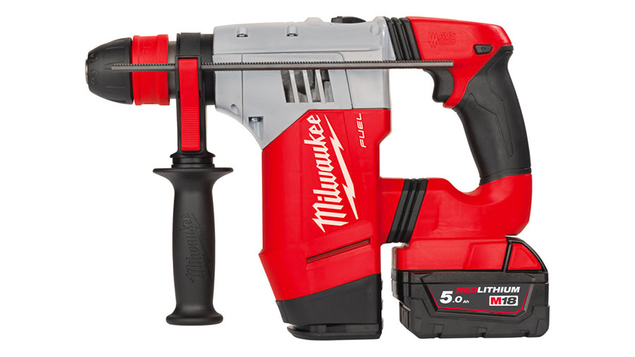 Test complet : Perforateur sans fil SDS-Plus Milwaukee M18 CHPX-502X
