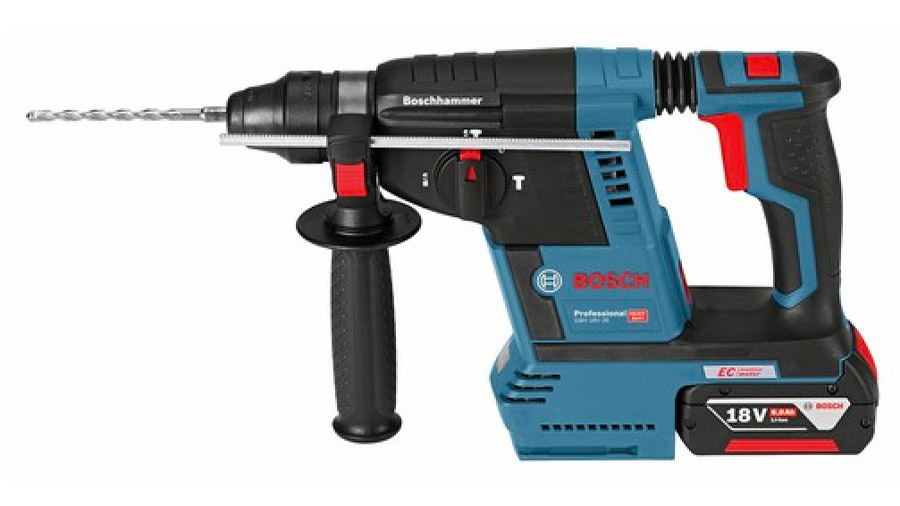 Test complet : Perforateur sans fil SDS-Plus Bosch GBH 18V-26 F Professional