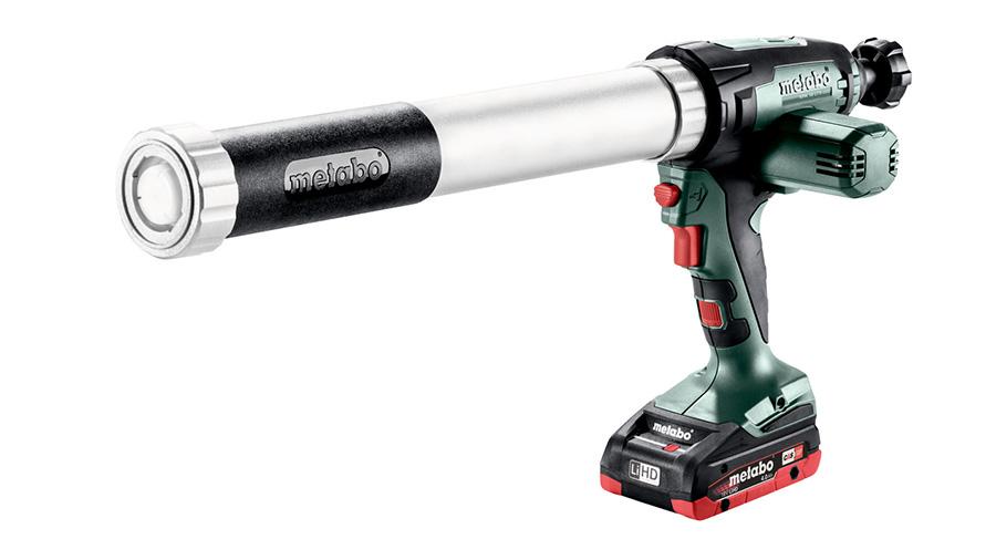 Test complet : Pistolet à mastic Metabo KPA 18 LTX 600 601207800