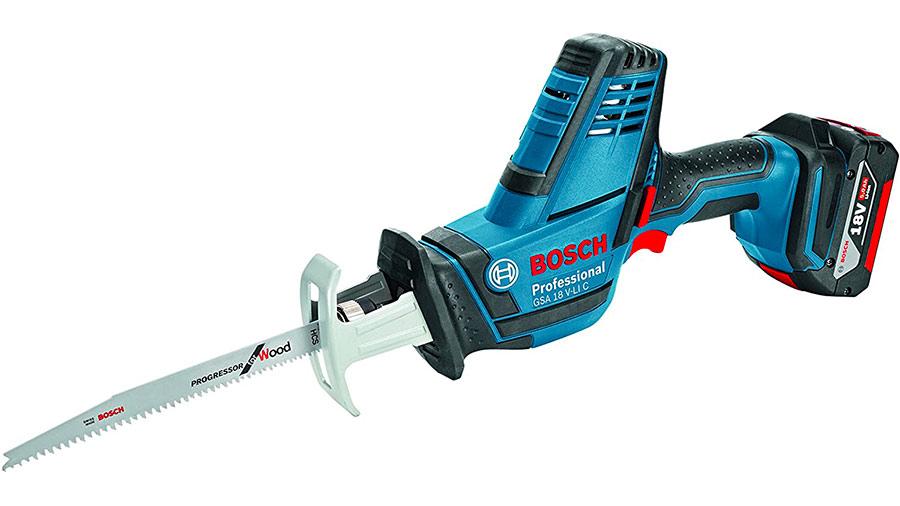 Test complet : Scie sabre sans fil Bosch GSA 18 V-LI C Professional compacte