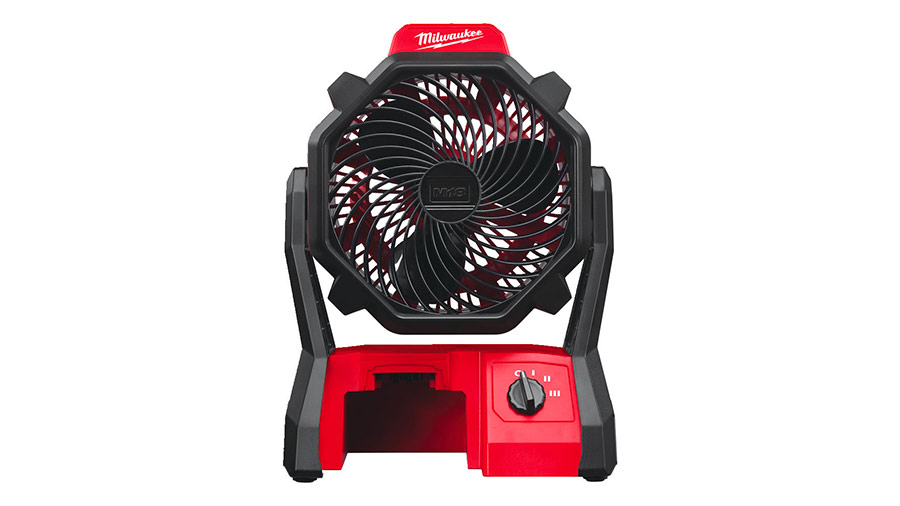 Test complet : Ventilateur sans fil Milwaukee M18 AF-0