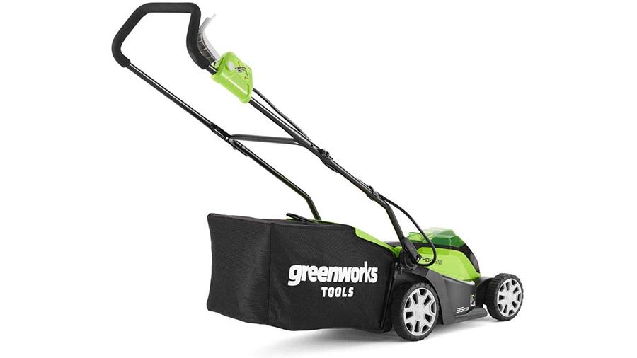 Tondeuse à gazon sans fil 40 V Greenworks G40LM35 2501907