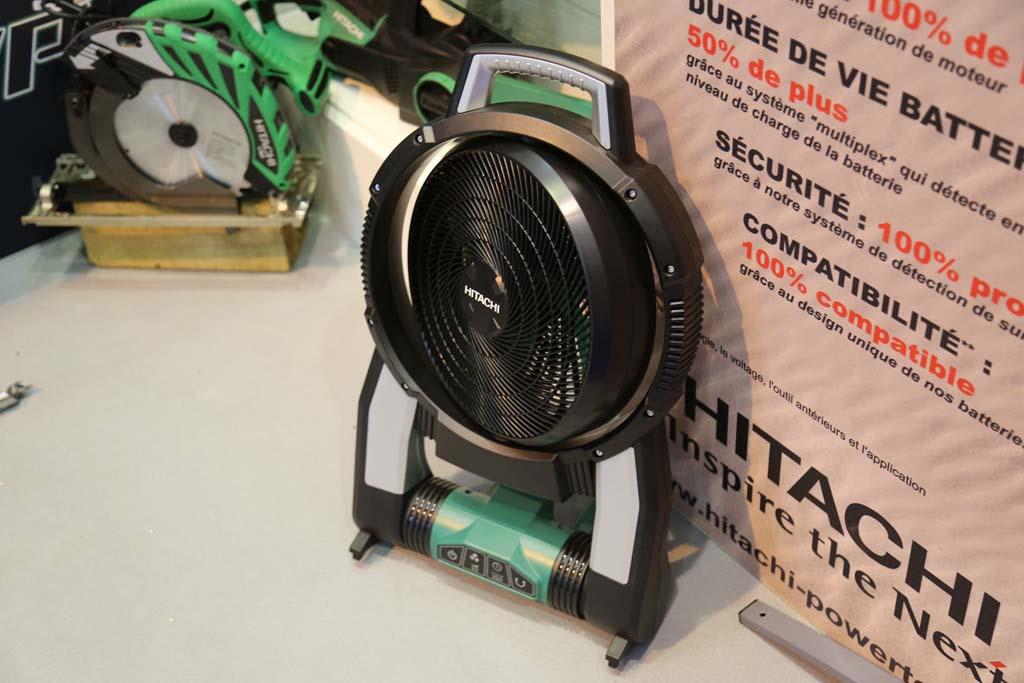test avis et prix ventilateur sans fil hitachi hikoki uf 18dfal zone outillage. Black Bedroom Furniture Sets. Home Design Ideas