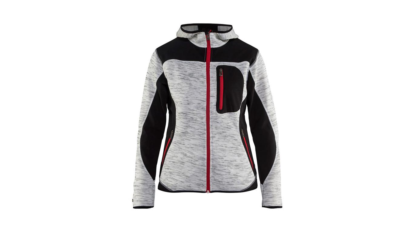 test avis et prix veste de travail blaklader tricot e capuche gris chin noir pour femme. Black Bedroom Furniture Sets. Home Design Ideas