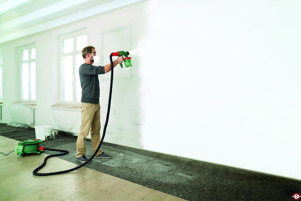 nouvelle gamme de pistolets peinture pfs bosch zone. Black Bedroom Furniture Sets. Home Design Ideas