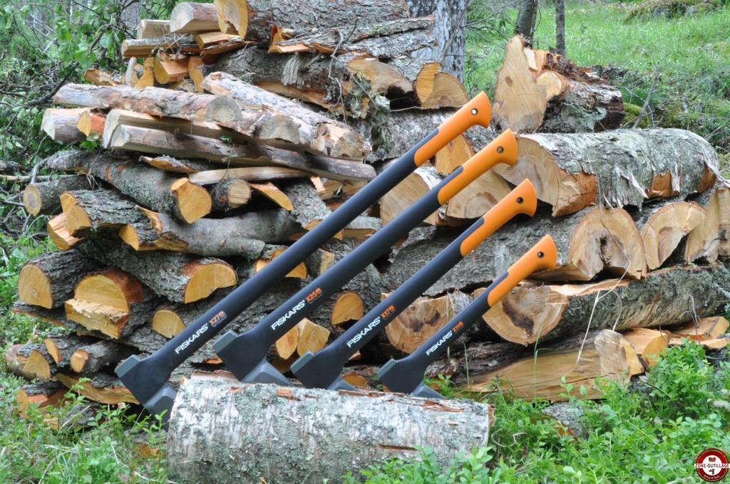 Haches et merlins  outils pour le bois Fiskars  Zone  ~ Outils Pour Le Bois