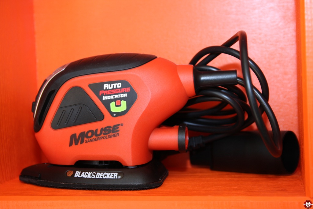 Ponceuse black et decker mouse