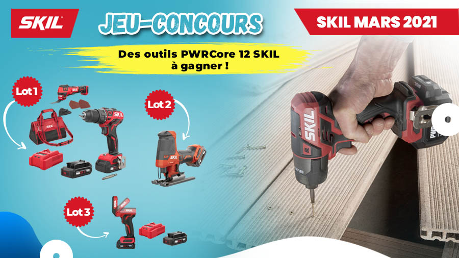 Jeu-concours PWRCore 12 SKIL