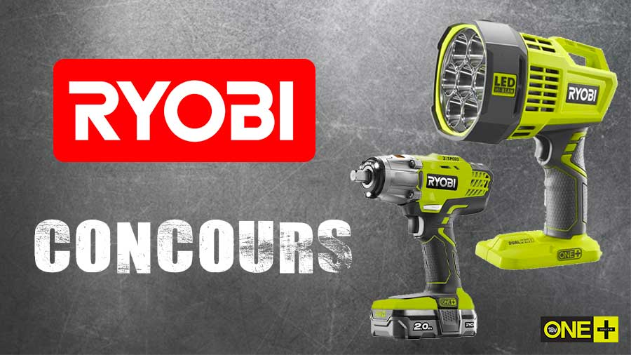 Jeu-concours RYOBI - Boulonneuse à chocs