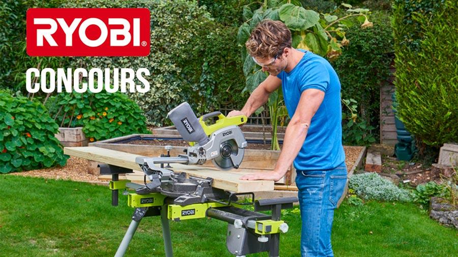 outils électroportatifs 18 Volts RYOBI ONE+ pour le travail du bois