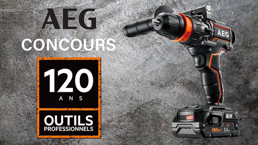 Concours AEG perceuse BSB18CBL