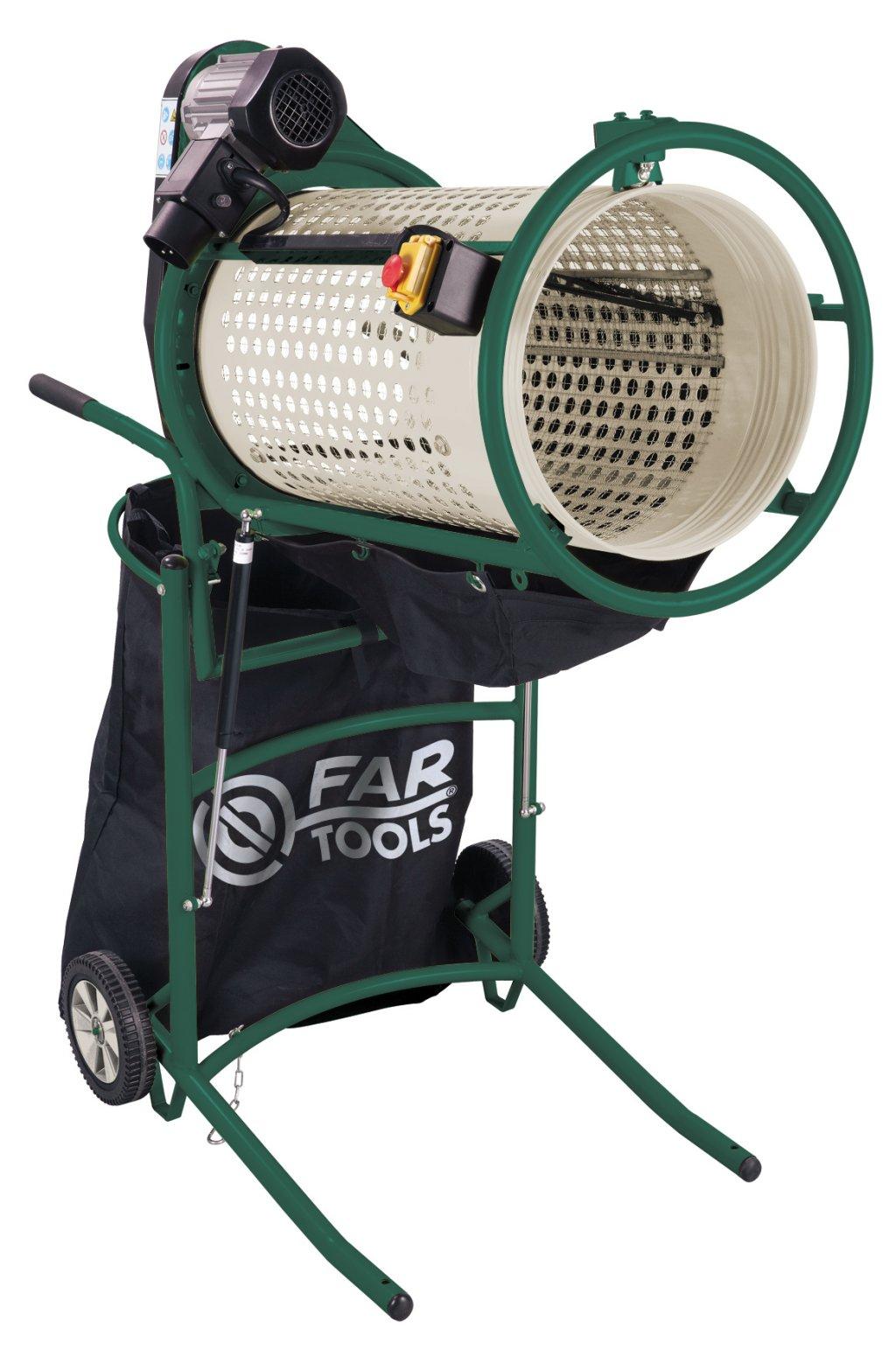 Fartools lance un tamis lectrique rs 375 pour le for Cisaille electrique pour jardin