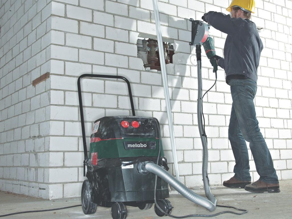 aspirateurs de chantier professionnels metabo pour toutes les classes de poussi res zone outillage. Black Bedroom Furniture Sets. Home Design Ideas
