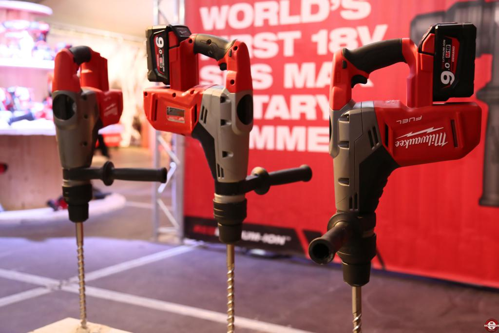 Perforateur SDS Max 18 V Milwaukee M18 CHM © Benjamin LEHARIVEL - Zone Outillage
