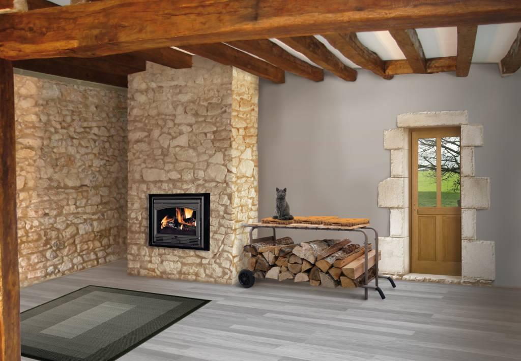 Stockage buches bois nouvelle gamme de stockage pour le for Stockage bois interieur