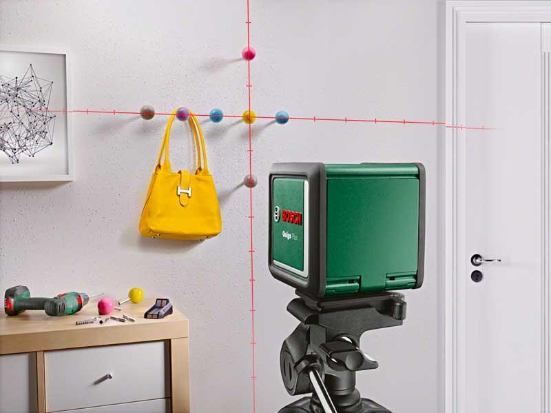 nouveaux lasers lignes bosch quigo 3 et quigo plus zone outillage. Black Bedroom Furniture Sets. Home Design Ideas