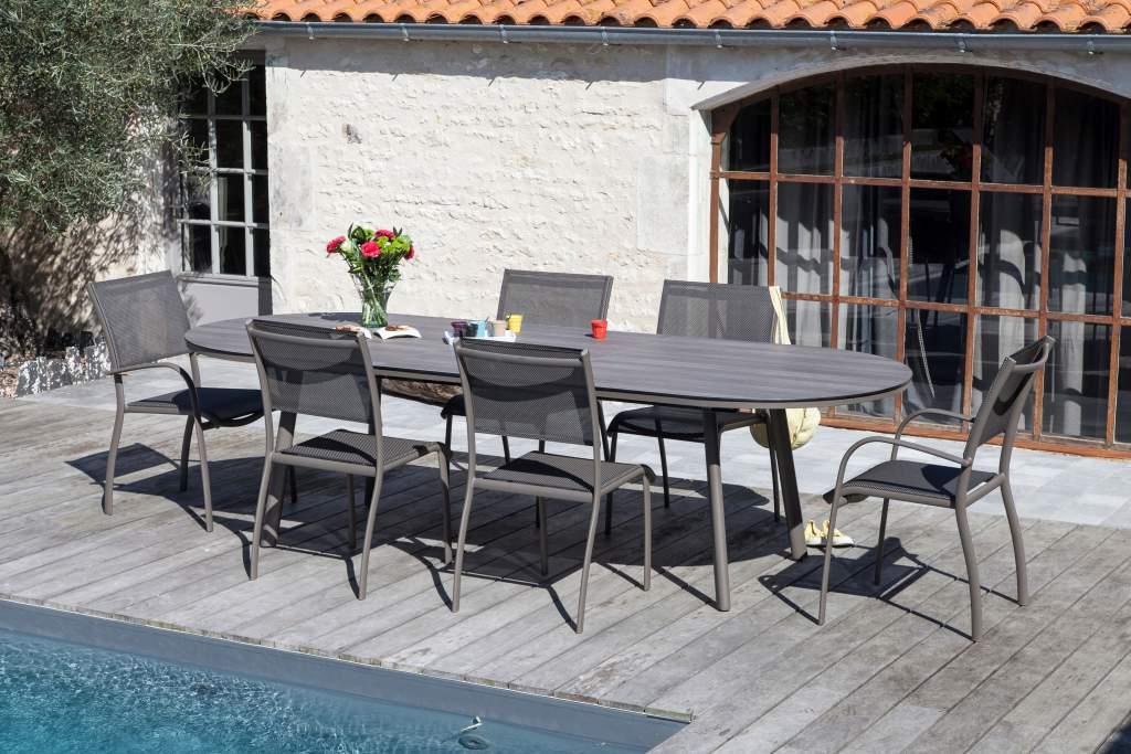 Nouvelles tables avec plateaux hpl trespa oc o et for Table exterieur hpl