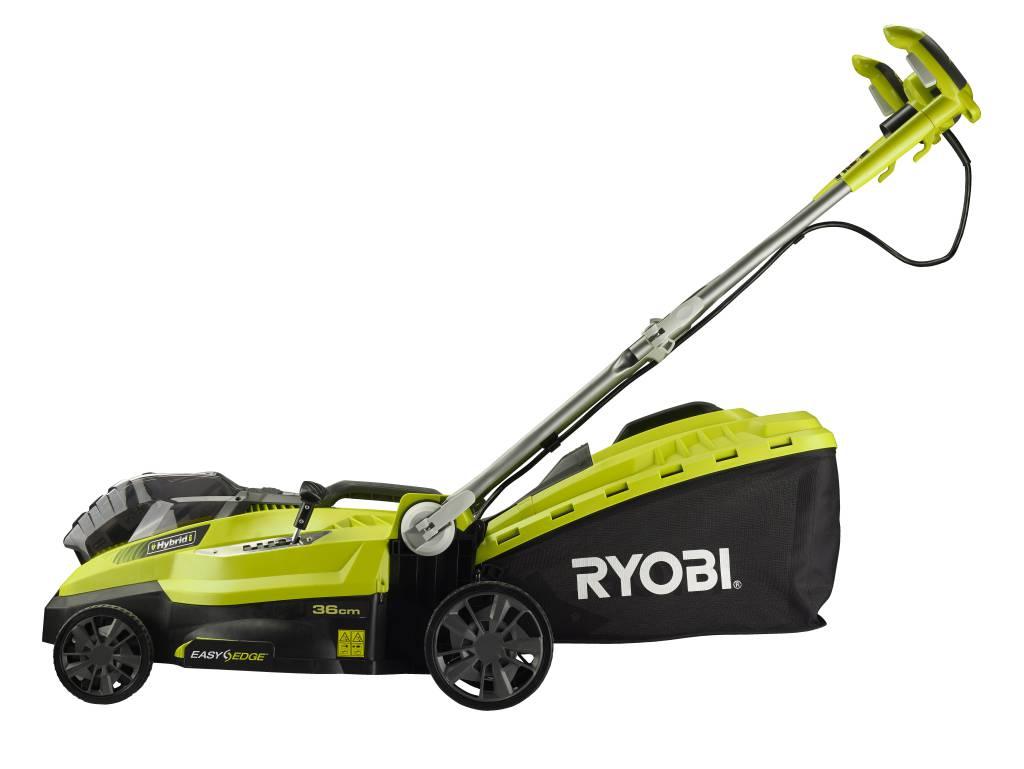 Tondeuse ryobi rlm18x33h40 for Tondeuse a batterie ryobi